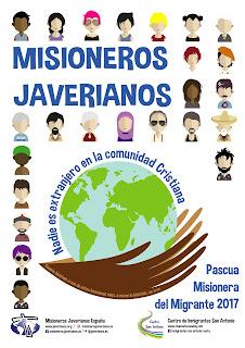 Misioneros, javerianos, pascua, migrante