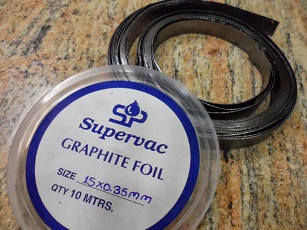 Graphite Foils, graphite tape