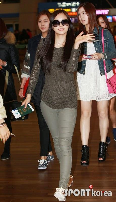 Airport Fashion: Apink Naeun - Official Korean Fashion