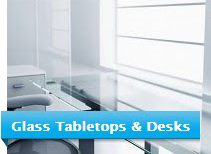 Glass Tabletops and Desks