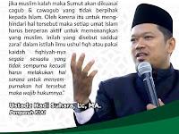 KIAI Medan:  Ummat Wajib Gelar Tabligh Akbar Pemenangan dalam Pilgubsu 2018