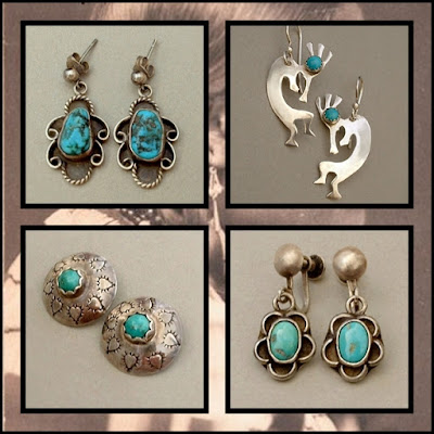 Vintage Native American Turquoise Jewelry, Old Pawn Jewelry - Years After