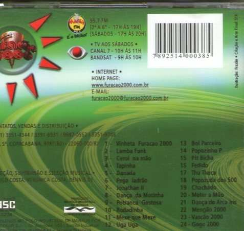 NERVOSO TORNADO BAIXAR MUITO 1 FURACAO CD 2000