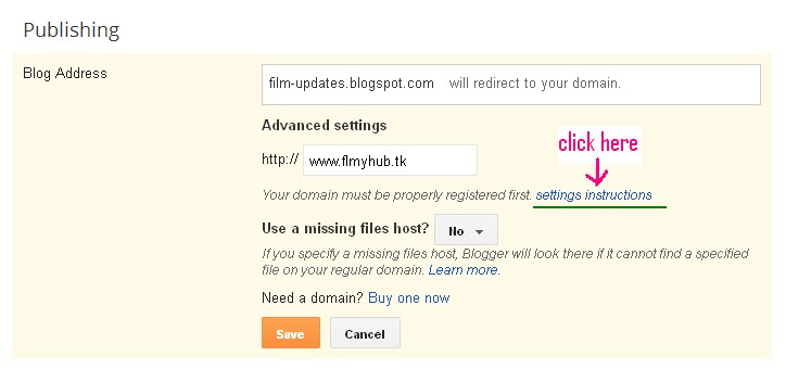 Use custom domain