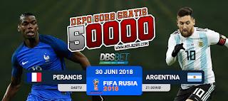 perancis vs argentina piala dunia 30 juni 2018
