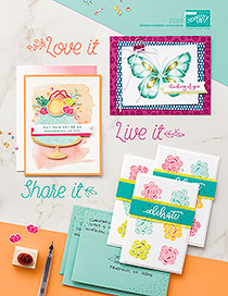 Take a look at the new 2018 Spring Summer Occasions Catalogue from Stampin' Up!