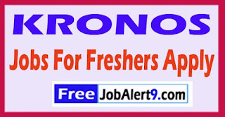KRONOS Recruitment 2017 Jobs For Freshers Apply