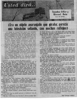 noticia del 9 de mayo de 1974