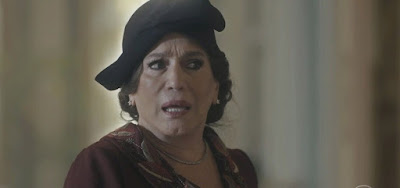 Emília (Susana Vieira) perderá a paciência com as modernidades de sua filha caçula na novela das seis