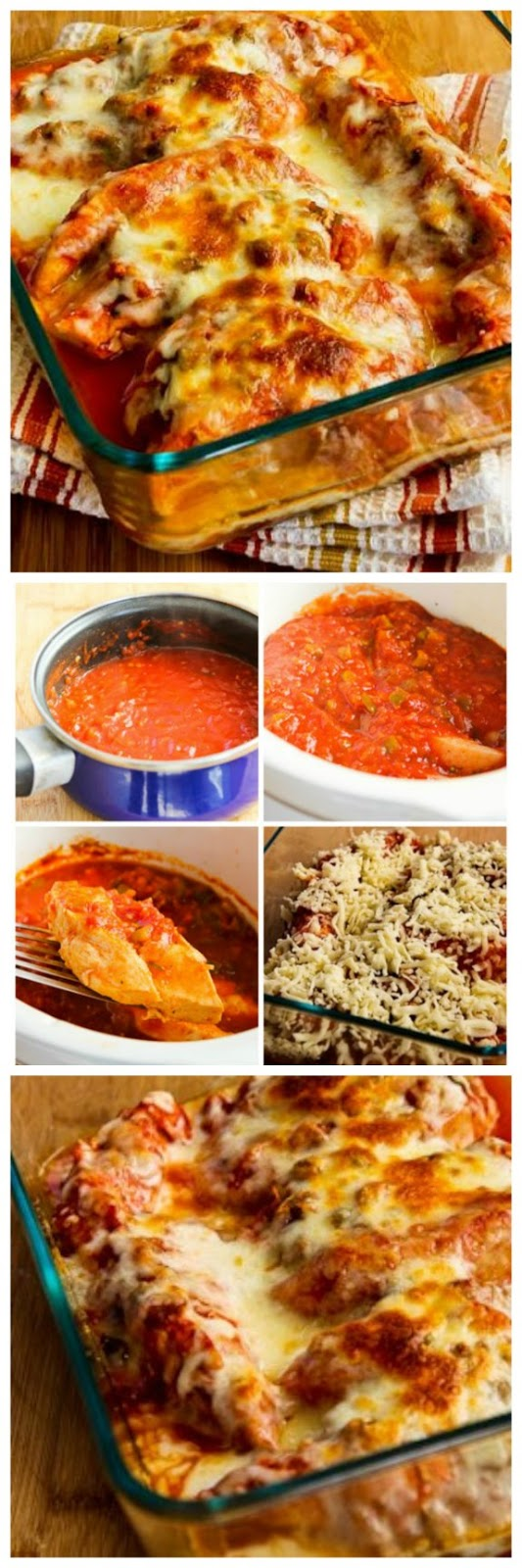 Slow Cooker Salsa Chicken with Lime and Melted Mozzarella from Kalyn's ...