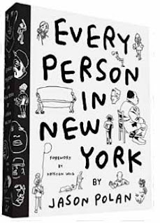 Every Person in New York - a coffee table book by Jason Polan