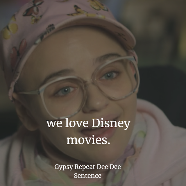 WE LOVE DISNEY GYPSY ROSE