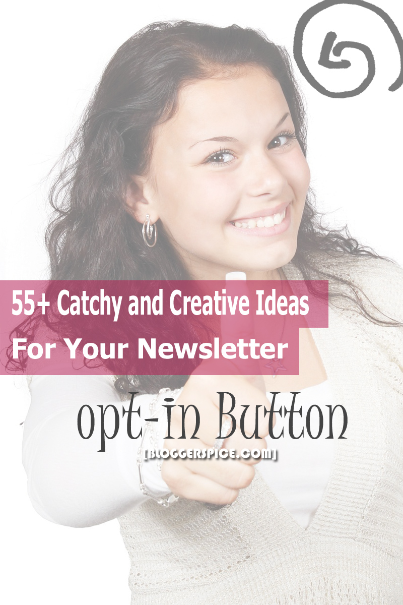 Catchy and Creative Ideas For Your Newsletter Subscription Button