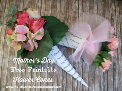 Mother's Day Flower Cones 1 - MLI