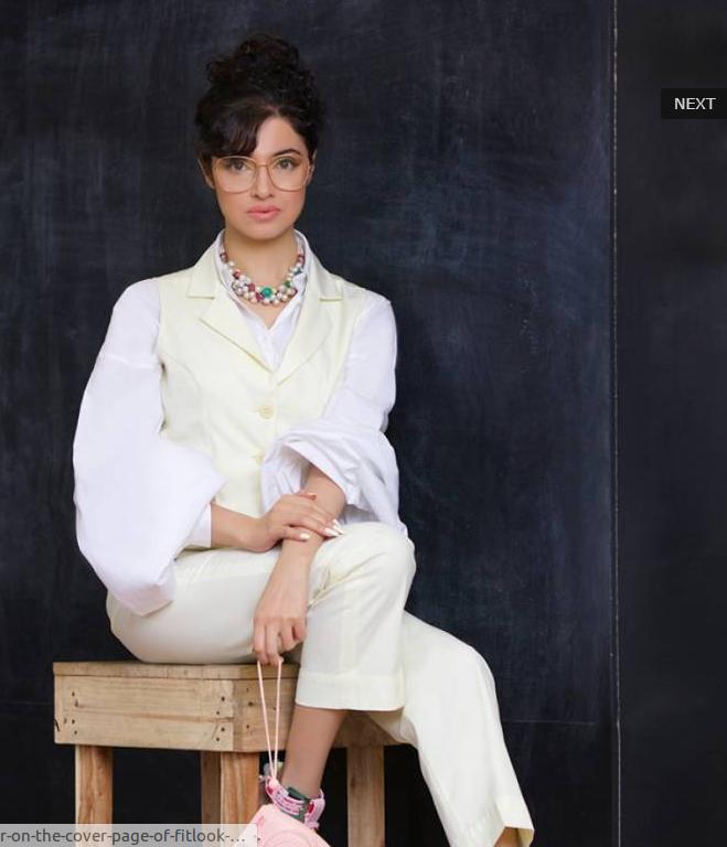 Divya Khosla Kumar on the Cover Page of Fitlook Magazine June 2017