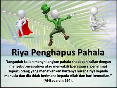Riya' Dalam Beribadah.