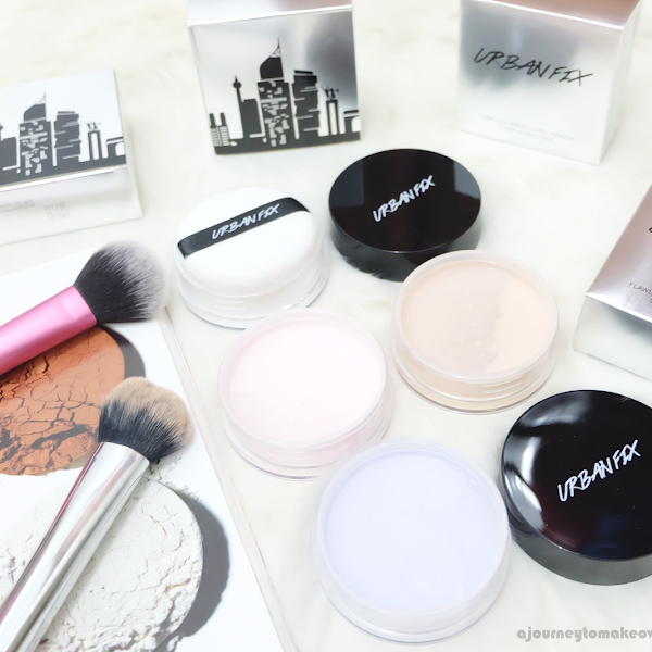 Impression about NEW URBANFIX Loose Powder!