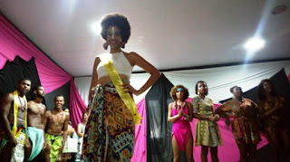 Adaneibe Silva vence o 4º Concurso Beleza Negra do Colégio Estadual Abelardo Moreira, em Mairi
