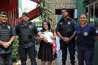 Guarda Civil Municipal de Itapevi salva recém-nascido