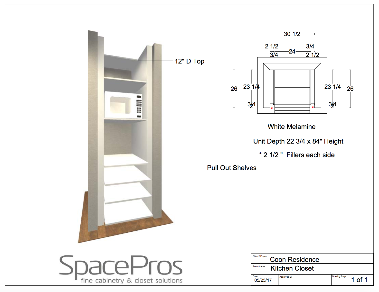 free plans How To Build A Hidden Coffee Station and Microwave - shabbyfufublog.com
