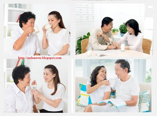 Milk powder milk calcium and choice for older people of Vietnam Anlene