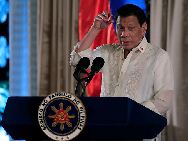 Si es narco, presidente filipino ordena matar a su hijo