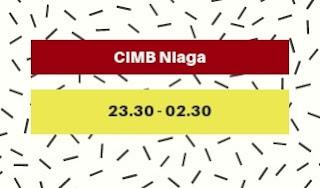 Jam Offline atm CIMB