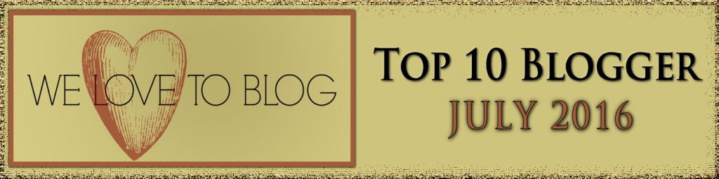 Top Blogger July 2016