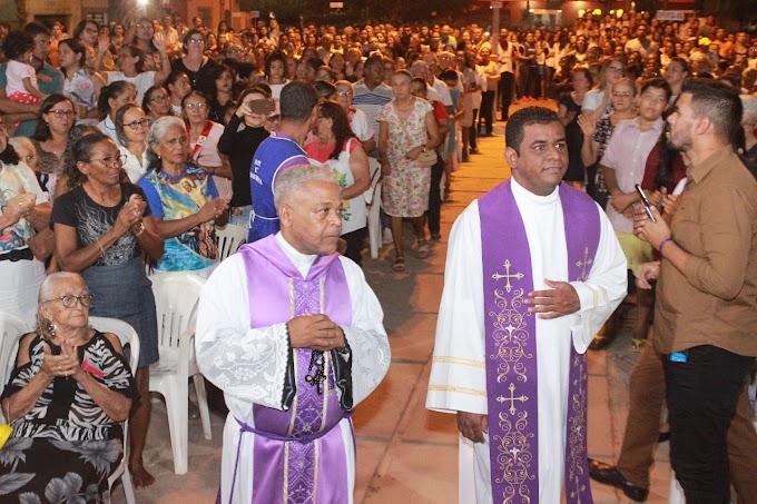 1ª noite do novenário em honra a Nossa Senhora da Boa Esperança