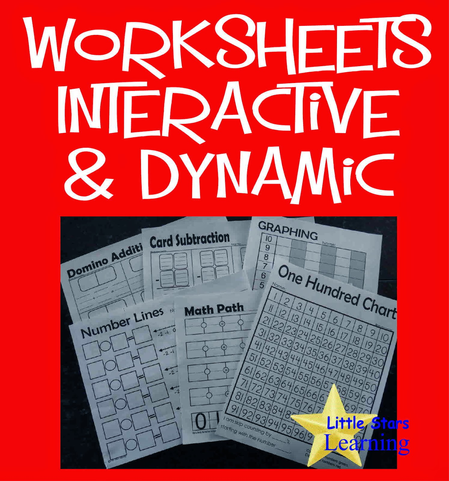 dynamic and interactive preschool early elementary worksheets
