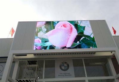Lắp đặt thi công màn hình led p5 outdoor ngoài trời tại Điện Biên