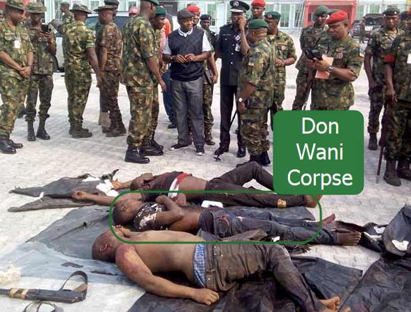 don wanny dead body