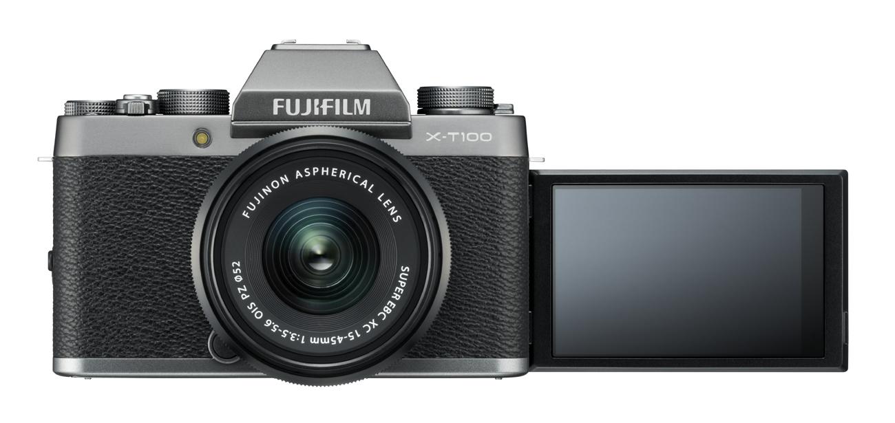 Fujifilm X-T100 с откидным экраном