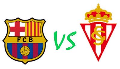 Barcelona vs Sporting Gijon