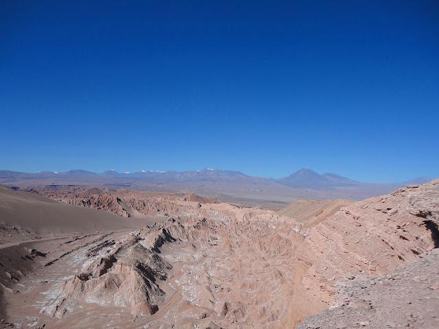チリ アタカマ砂漠