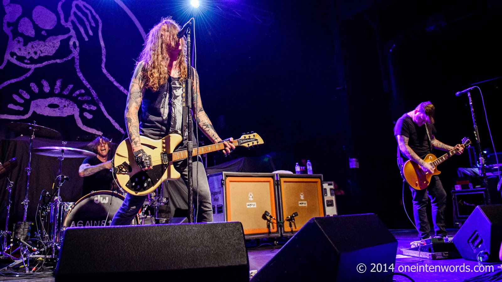 Against Me! at Sound Academy September 19, 2014 Toronto one in ten words toronto indie alternative music blog concert photography pictures