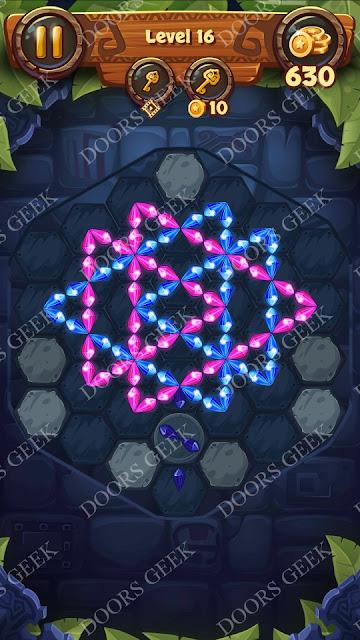 Gems & Magic [Indigo] Level 16 Solution, Walkthrough, Cheats