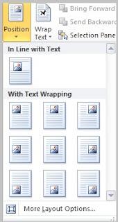 cara menyisipkan gambar di microsoft word