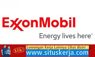 Info Tentang Lowongan Kerja Terbaru Exxon Mobil
