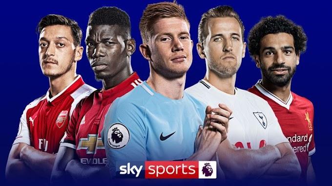 Atualização Campeonato Ingles - Premier League 2019