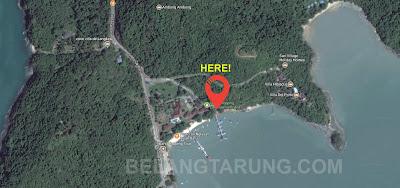 Maps Island Hopping Langkawi