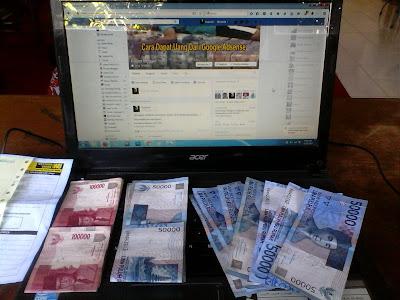 Blog yang menghasilkan uang dari google adsense