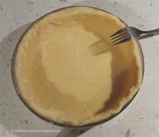 Тарт с горчицей