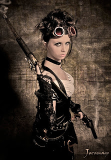 Gothic Steampunk Girl
