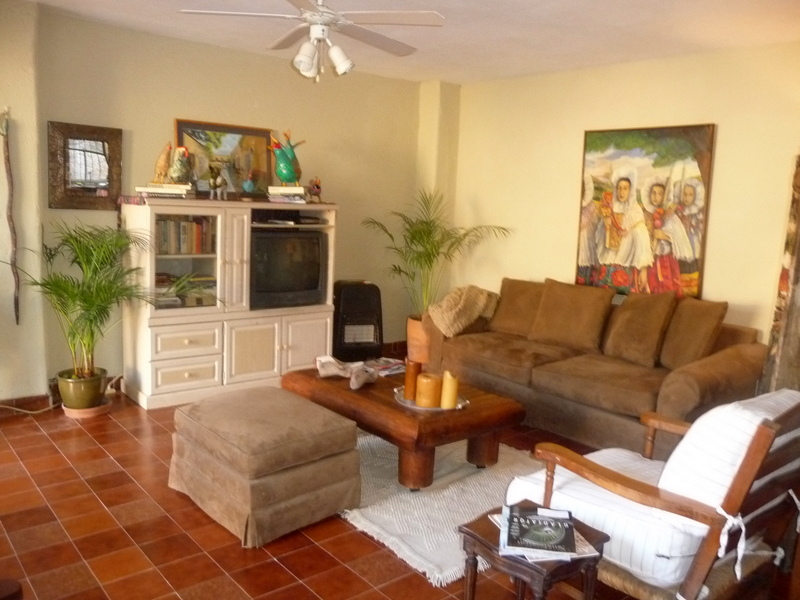 Babsblog casa tranquila available immediately for lease in san dining room and kitchen the sofa is a suede covered high end sofa with a queen bed usable for company comfortable seating for watching tv or reading are m4hsunfo