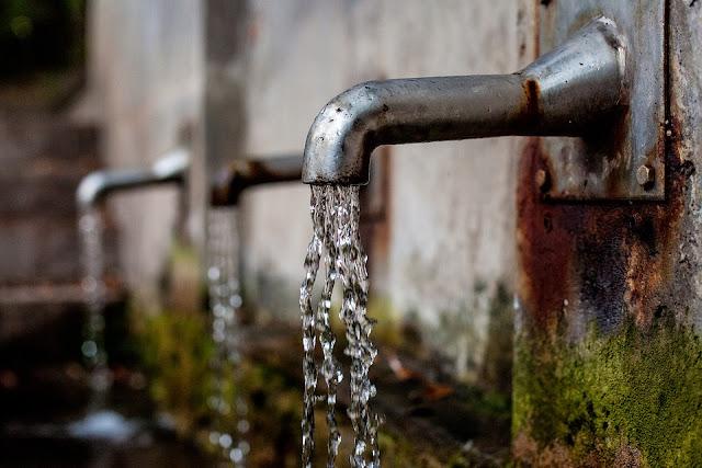 eau courante robinet