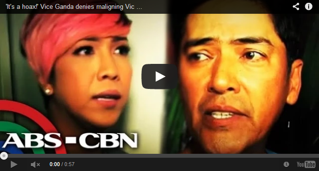 Vice Ganda Said the Viral Video Spreading Related with Vic Sotto is A Hoax