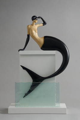 Green Pear Diaries, arte, escultura, John Morris, High Tide, Marea Alta