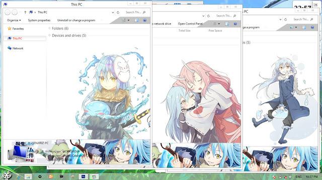 Download Windows 8 and windows 8.1 Theme Anime Tensei shitara Slime Datta Ken by Enji Riz Lazuardi