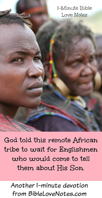 God spoke to remote African Tribe about His Son Jesus, Alfred Buxton, C.T. Studd